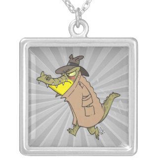 personaje de dibujos animados disimulado del cocod collar