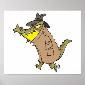 personaje de dibujos animados disimulado del cocod poster