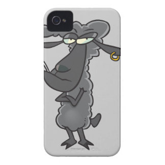 personaje de dibujos animados divertido de las ove iPhone 4 cárcasa