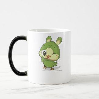 Personaje de dibujos animados divertido del animad taza