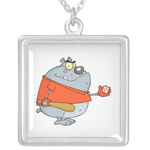 personaje de dibujos animados divertido del dogo d grimpolas personalizadas