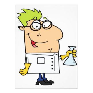 personaje de dibujos animados divertido del empoll comunicado