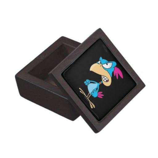 personaje de dibujos animados malo enojado lindo d caja de joyas de calidad