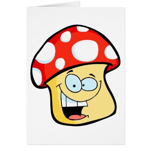 personaje de dibujos animados sonriente tonto del tarjeta de felicitación