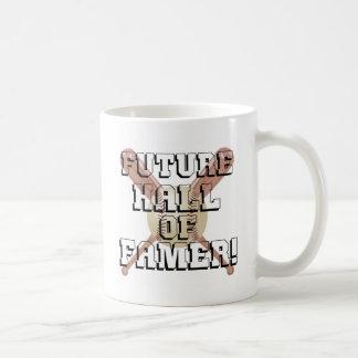 Personaje famoso futuro taza
