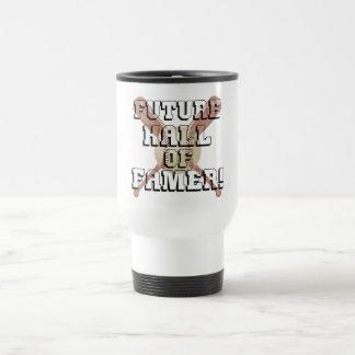 Personaje famoso futuro taza térmica
