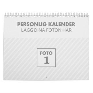 Personal 2018 familjekalender photo calendar year
