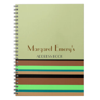 Personal Address Book (or Journal or List)