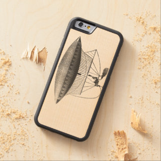 Personal Airship Carved Maple iPhone 6 Bumper Case