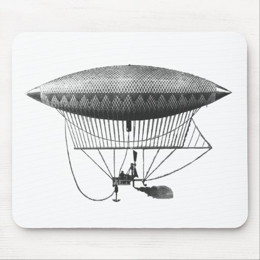 Personal Airship Mouse Pads