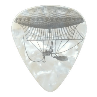 Personal Airship Pearl Celluloid Guitar Pick