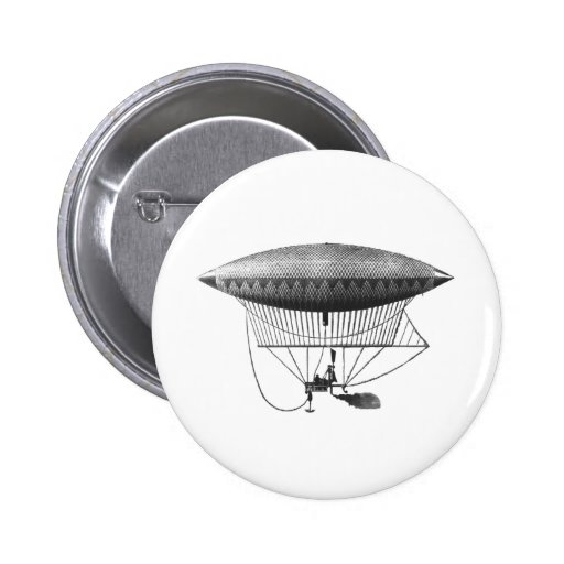 Personal Airship Pinback Buttons