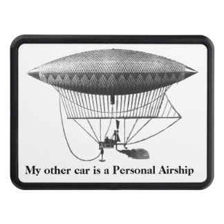 Personal Airship Trailer Hitch Cover