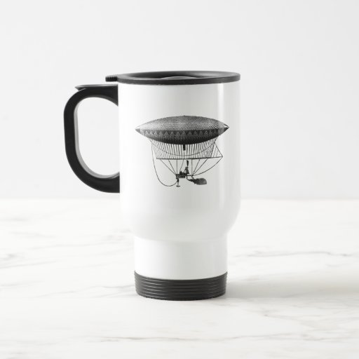 Personal Airship Travel Cup 15 Oz Stainless Steel Travel Mug