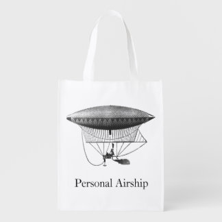 Personal Airship Grocery Bags