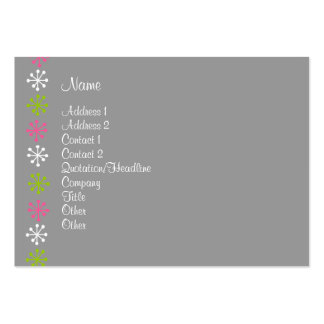 Personal Assistant Large Business Cards (Pack Of 100)