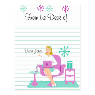 Personal Assistant Postcard