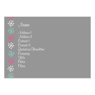 Personal Assitant Large Business Cards (Pack Of 100)