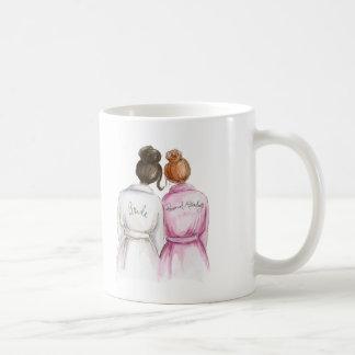 Personal Attendant? Dk Br Bun Bride Red Bun Maid Coffee Mug