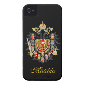 Personal Austria Hungary Coat of Arms iPhone 4 Case-Mate Cases