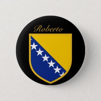 Personal Bosnia Flag Button