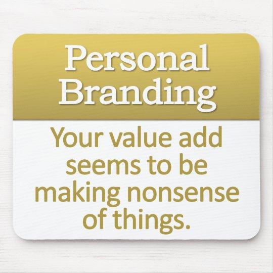 Personal Branding Mousepad