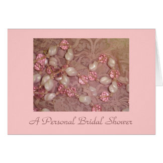 Personal Bridal Shower Stationery Note Card