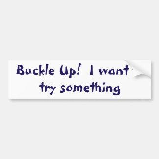 Personal Bumper Sticker