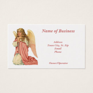 Personal-Business Card-Beautiful Angel Business Card