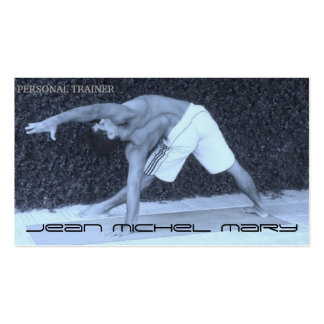 Personal business card to trainer