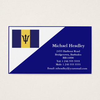Personal Business Vard - Barbados Business Card