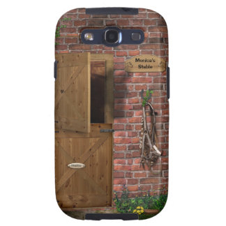 Personal Case for Horse-Lovers Riders Galaxy S3 Cover