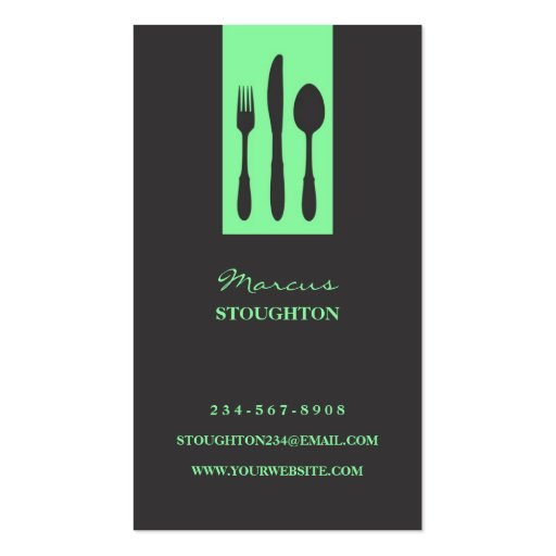 Personal chef business card business card templates page2 personal chef business card colourmoves