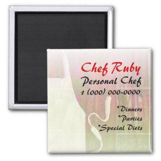 Personal Chef Custom Magnet