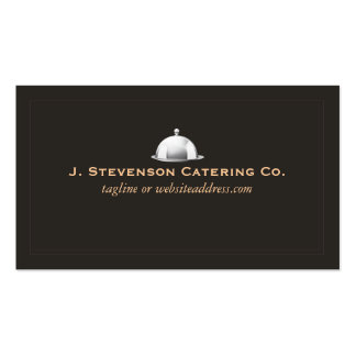 Personal Chef Fine Catering Cater Double-Sided Standard Business Cards (Pack Of 100)