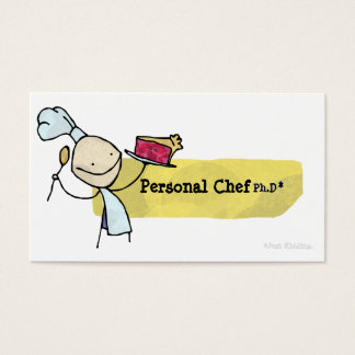 Personal Chef Ph.D Business Card