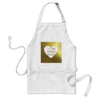 PERSONAL CHRISTMAS FAMILY PHOTO PORTRAIT GIFT ADULT APRON