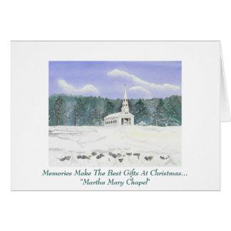 Personal Christmas Greeting card