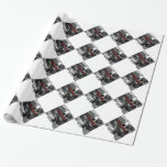 Personal Creation Photo Gift White Wrapping Paper