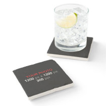 Personal Creation - Photo Stone Coaster