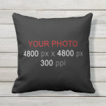 Personal Creation Throw Pillow