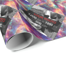 Personal Creations Photo Starburst Wrapping Paper