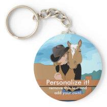 PERSONAL Custom  KEYCHAIN Cowgirl Prayer