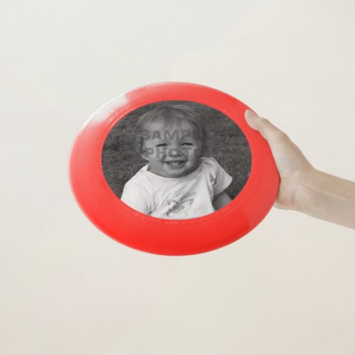 Personal Custom Photo Wham_O Frisbee