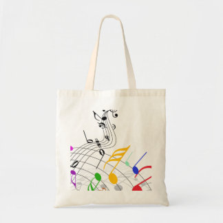 personal de las notas musicales n bolsa tela barata