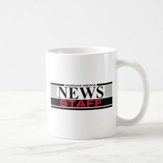 Personal de las noticias taza