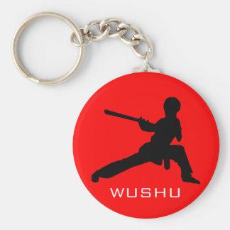 Personal de Wushu Llavero Redondo Tipo Pin
