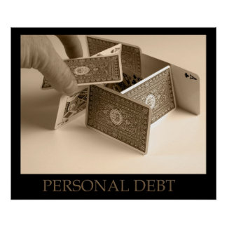 Personal Debt House of Cards Poster