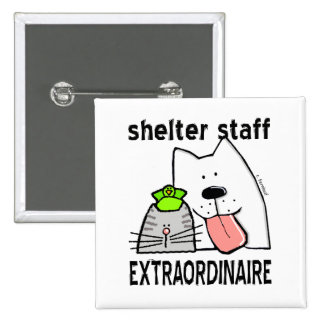 Personal del refugio Extraordinaire Pin