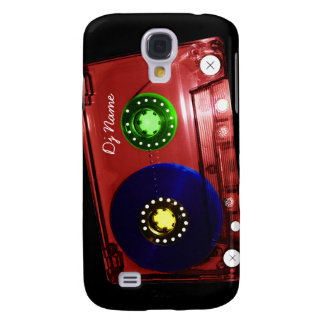 Personal Dj Music Tape - Just Add Your Name Samsung Galaxy S4 Case
